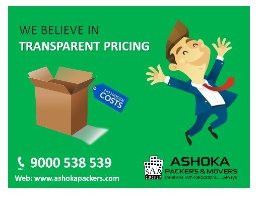 Professional Shifting Support by Ashoka Packers and Movers in Hyderabad